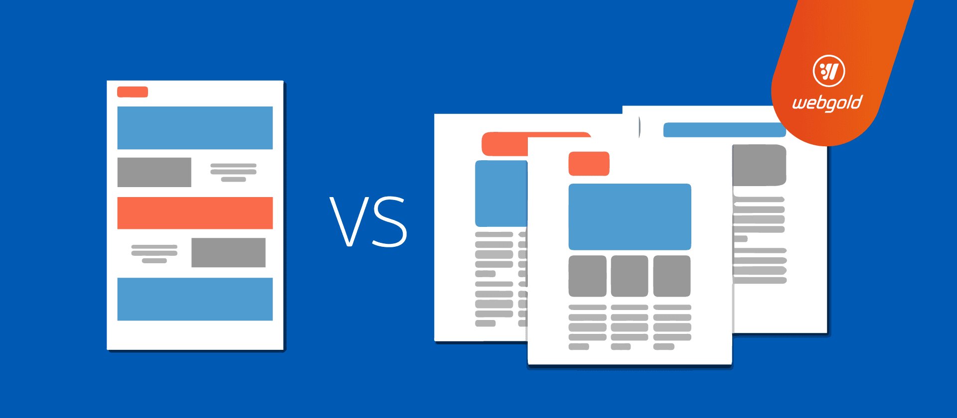 One page vs Multi-page Website Design for Small Business