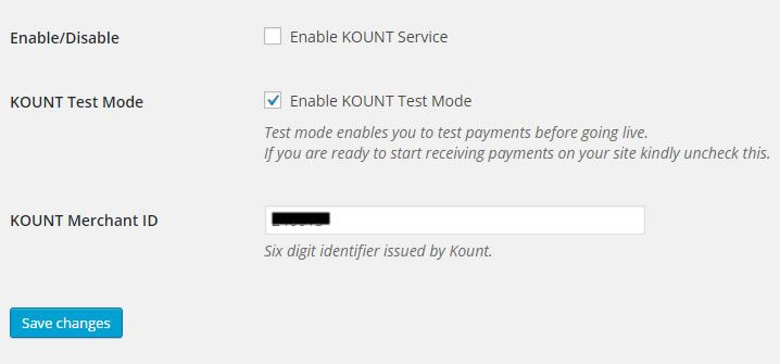 woocommerce first atlantic commerce kount service
